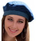 Textures Beret Double Sided - Pure Alpaca Wool