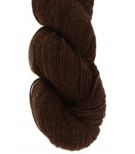Baby lama wool - Dark Chestnut - 100 gr.