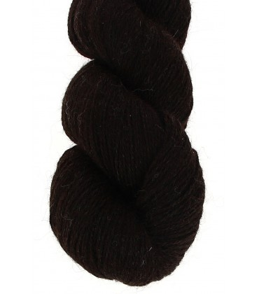 Baby lama wool - Ebony black - 100 gr.