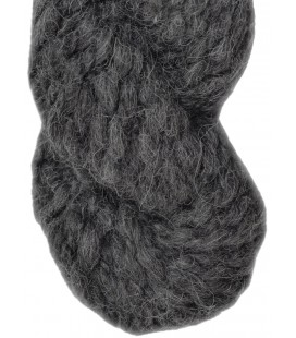 Dark grey - 100% Alpaca - Super bulky - 100 gr./ 47 yd.