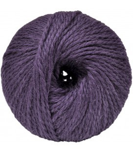 Alpaca and Sheep Wool - Purple - 100 gr.