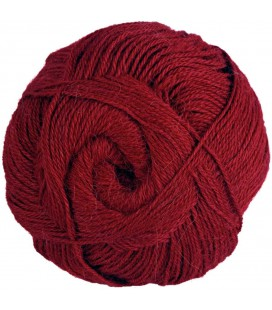 Dark red - 100% Alpaca - Fine - 100 gr./ 372 yd.