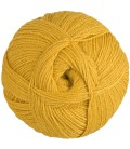 Pure Alpaca Wool - Gold Yellow - 100 gr.