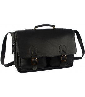 """Executive"" briefcase - Lama Leather"