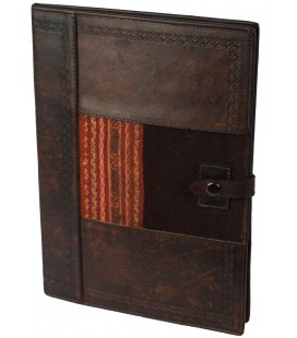 File - Genuine leather and aguayo
